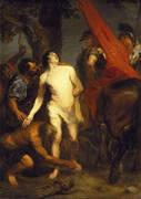The Martyrdom of St Sebastian By Van Dyck