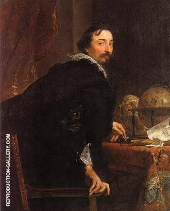 Lucas van Uffele By Van Dyck