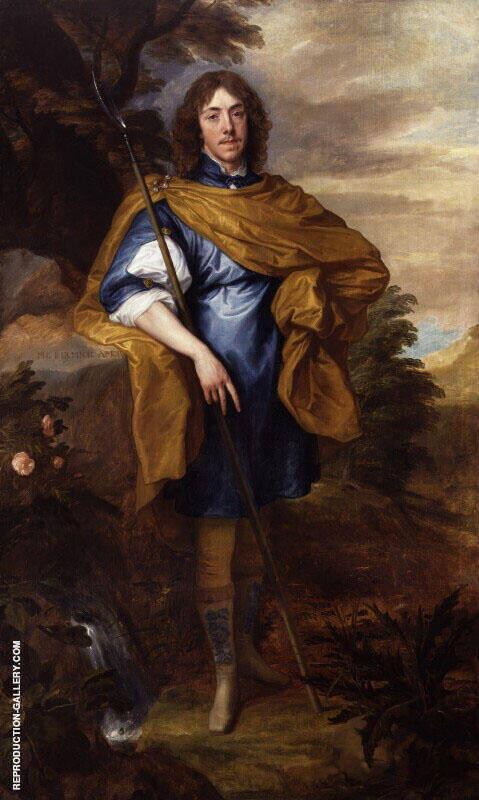 George Stuart Seigneur d Aubigny 1638 By Van Dyck