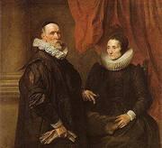 The Painter Jan de Wael and is Wife 1629 By Van Dyck