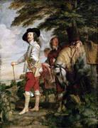 Le Roi a la Chasse 1635 By Van Dyck