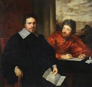 Thomas Wentworth Earl of Strafford with Sir Philip Mainwaring By Van Dyck