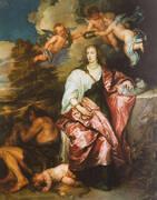 Venetia Stanley Lady Digby as Prudence By Van Dyck