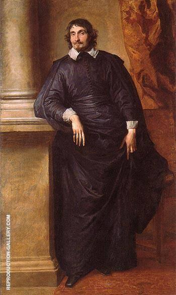 Cesare Alessandro Scaglia di Verrua Abbe of Staffarda and Mandancini By Van Dyck