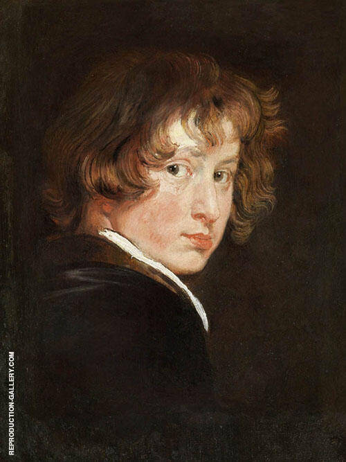 Self portrait 1613 Painting By Van Dyck - Reproduction Gallery