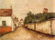 Marizy Sane Genevieve 1910 By Maurice Utrillo