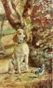 The Artist's Dog Fleche By Henri De Toulouse-lautrec