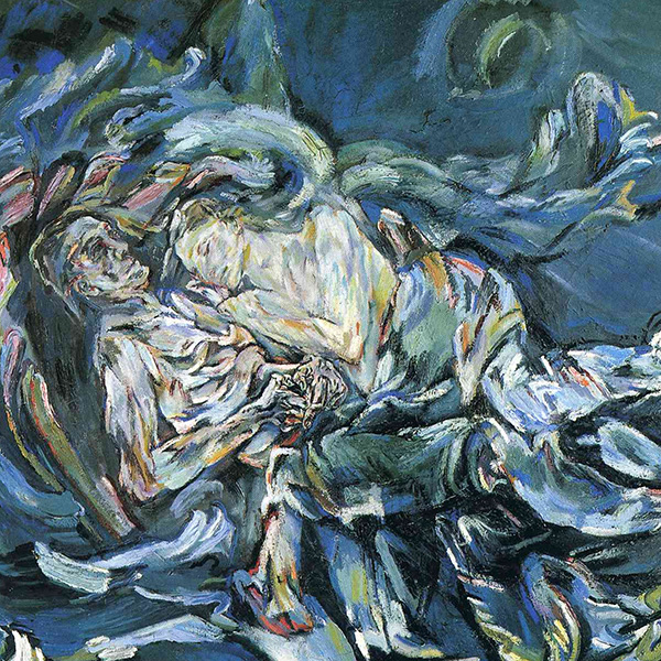 Oil Painting Reproductions of Oskar Kokoschka
