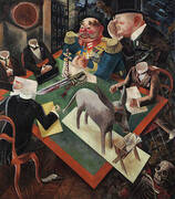 Eclipse of the Sun 1926 By George Grosz