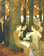 The Muses 1893 By Maurice Denis