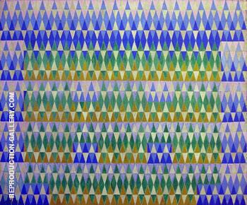 Irridescent Eucalyptus 1914 By Giacomo Balla