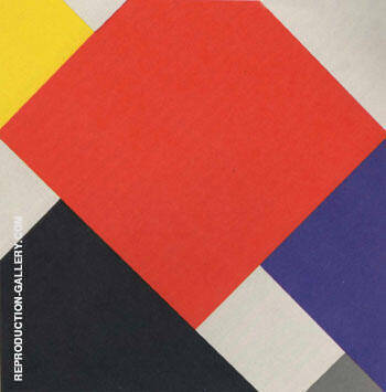 Simultaneous Counter-Composition V 1924 By Theo van Doesburg