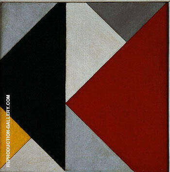 Counter-Composition XIII x 1925 By Theo van Doesburg Replica Paintings on Canvas - Reproduction Gallery