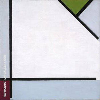 Simultaneous Counter Composition 1929 By Theo van Doesburg