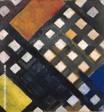 Counter Composition XI 1925 By Theo van Doesburg Replica Paintings on Canvas - Reproduction Gallery