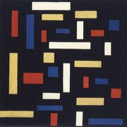Composition VII The Three Graces By Theo van Doesburg