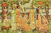 The Idlers c1918 By Maurice Prendergast