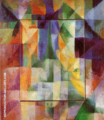 Simultaneous Windows on the City 1912 Painting By Robert Delaunay