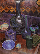 Still Life Vase and Objects c1907 By Robert Delaunay