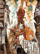 Champ de Mars, The Red Tower 1911 By Robert Delaunay