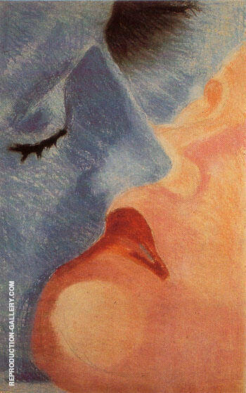 The Kiss 1922 By Robert Delaunay