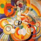 Carousel with Pigs 1922 By Robert Delaunay