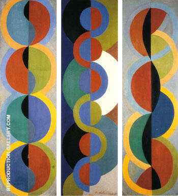 Rhythm Without End 1933 By Robert Delaunay Replica Paintings on Canvas - Reproduction Gallery