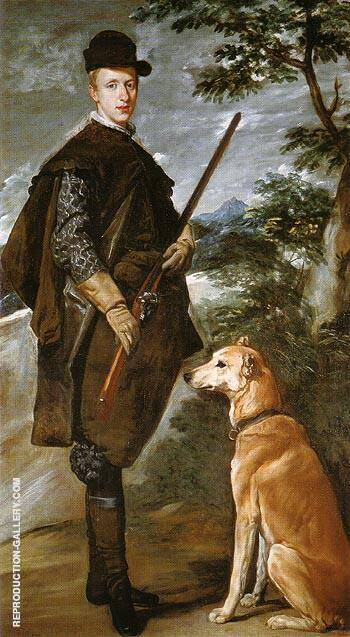 The Cardinal Infante Don Fernando as a Hunter 1632 By Diego Velazquez Replica Paintings on Canvas - Reproduction Gallery