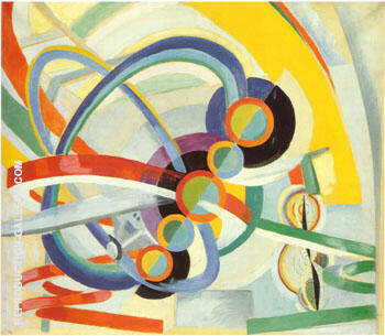 Propeller and Rhythm c1937 By Robert Delaunay