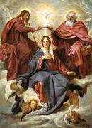 The Coronation of the Virgin 1645 By Diego Velazquez