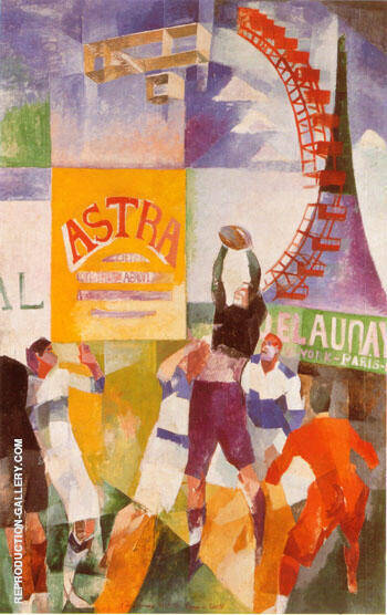The Cardiff Team c1912 By Robert Delaunay