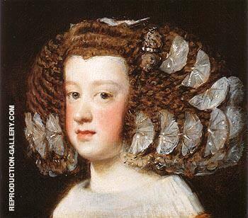 Infanta Maria Teresa 1651 By Diego Velazquez