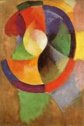 Circular Forms Sun No 2 c1912 By Robert Delaunay