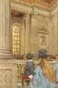 The Chapel at the Chateau de Veisailles c1919 By Edouard Vuillard