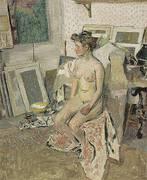 Nude in the Studio c1902 By Edouard Vuillard
