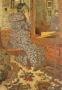 Woman Arranging Her Hair 1900 By Edouard Vuillard