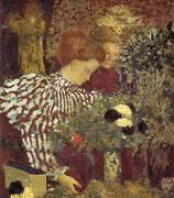 The Striped Biouse 1895 By Edouard Vuillard