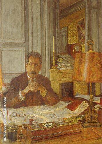 Portrait of Philippe Berthelot 1928 By Edouard Vuillard