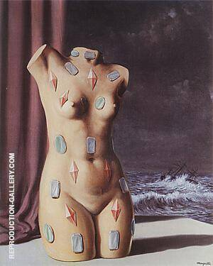 The Drop of Water 1948 By Rene Magritte - Oil Paintings & Art Reproductions - Reproduction Gallery