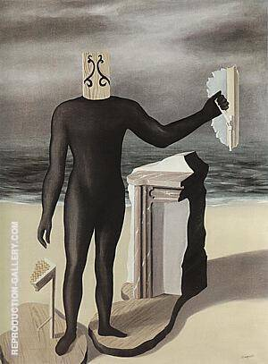 Man of the Sea 1926 By Rene Magritte - Oil Paintings & Art Reproductions - Reproduction Gallery