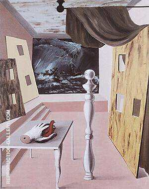 The Difficult Crossing 1926 By Rene Magritte - Oil Paintings & Art Reproductions - Reproduction Gallery