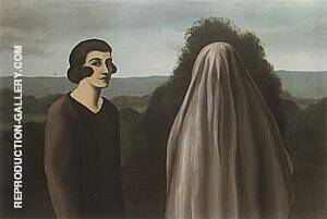 Invention of Life 1927 By Rene Magritte Replica Paintings on Canvas - Reproduction Gallery