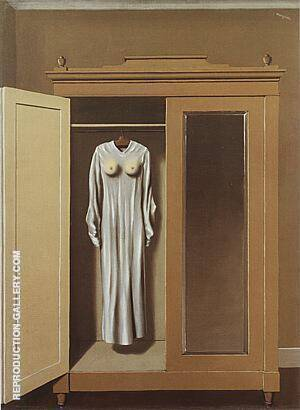 Philosophy in the Boudoir Painting By Rene Magritte - Reproduction Gallery