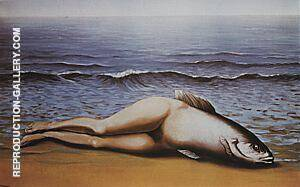 Collective Invention 1934 Painting By Rene Magritte - Reproduction Gallery
