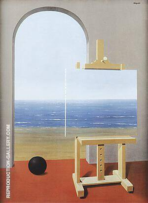 The Human Condition 1935 By Rene Magritte Replica Paintings on Canvas - Reproduction Gallery