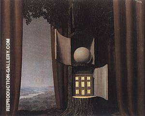 Reproduction of The Voice of Blood 1 1948 by Rene Magritte | Oil Painting Replica On CanvasReproduction Gallery