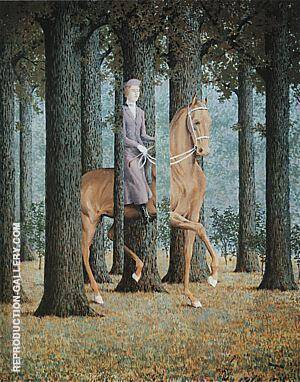 The Blank Cheque 1965 By Rene Magritte