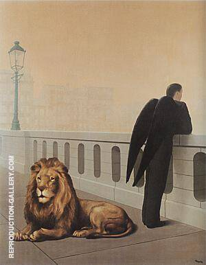 Homesickness 1940 By Rene Magritte
