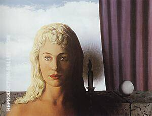 The Ignorant Fairy 1956 Painting By Rene Magritte - Reproduction Gallery