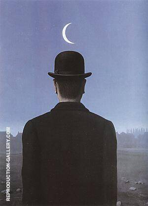 The Schoolmaster 1954 By Rene Magritte Replica Paintings on Canvas - Reproduction Gallery